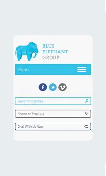 Blue Elephant Home Mobile