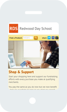 Redwood Day School Home Mobile