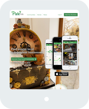 Pixie Me Home Tablet