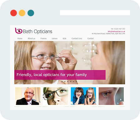 Bath-Opticians Home Desktop