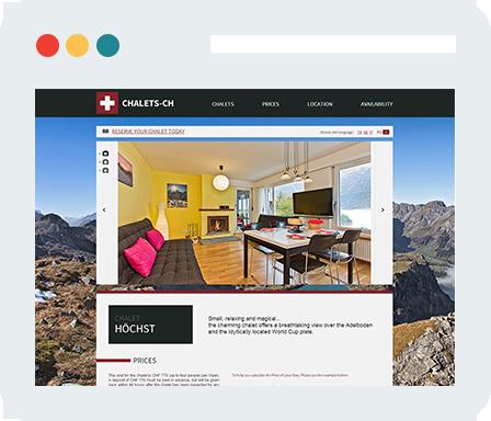 Chalets Home Desktop