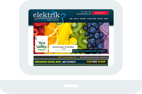 Elektrik3 Home Desktop