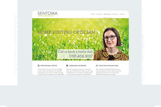 Sentoma Home Desktop