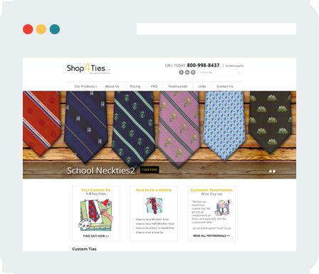 Shop4Ties.com Home