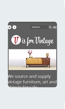 V is for Vintage Home Mobile