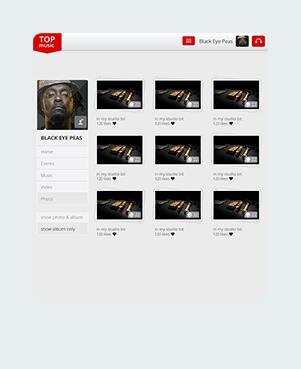 Top Music Photos Tablet