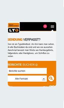 Taglich Oberosterreich Subpage Mobile