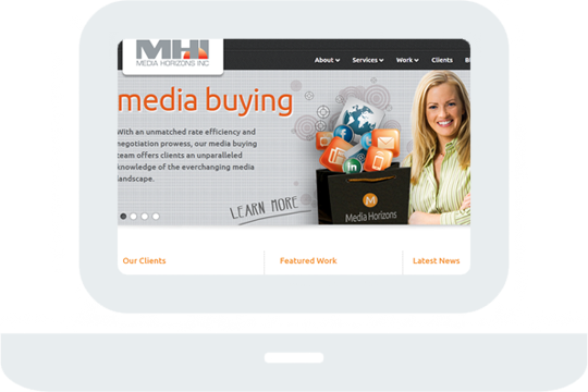 media horizon Home Desktop