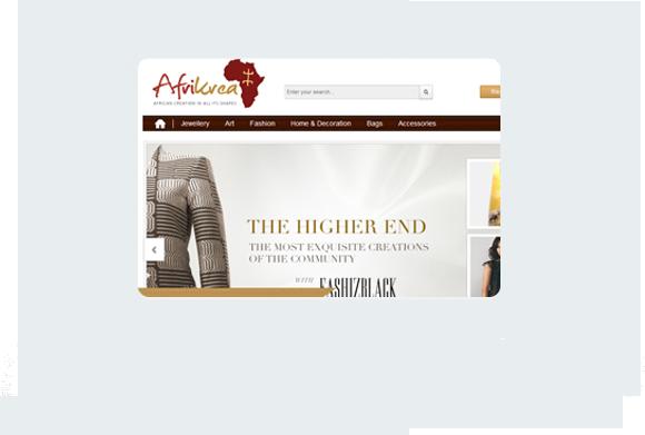 Afrikrea cake PHP Desktop