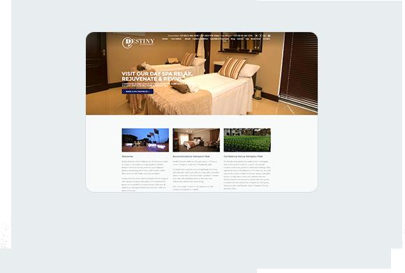 Destiny Hotel Home Desktop