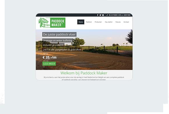 Paddock Maker Home Desktop