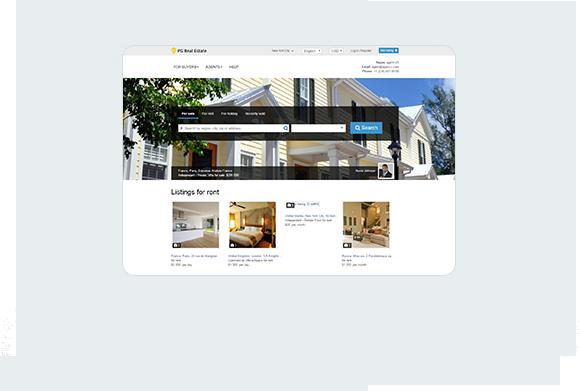 PG Real Estate Home Desktop