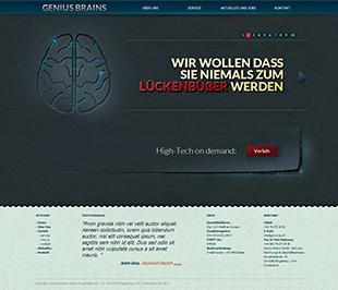 Genius Brains Tile